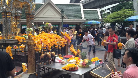 Respect Erawan shrine