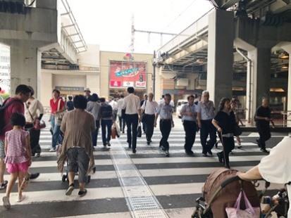 横断歩道①