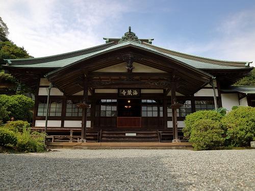 鎌倉『海蔵寺』からの手打ちそば葉山『風の姿』からの護衛艦2ショットポタリング