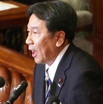 本会議で追及する枝野幸男・立憲民主党代表