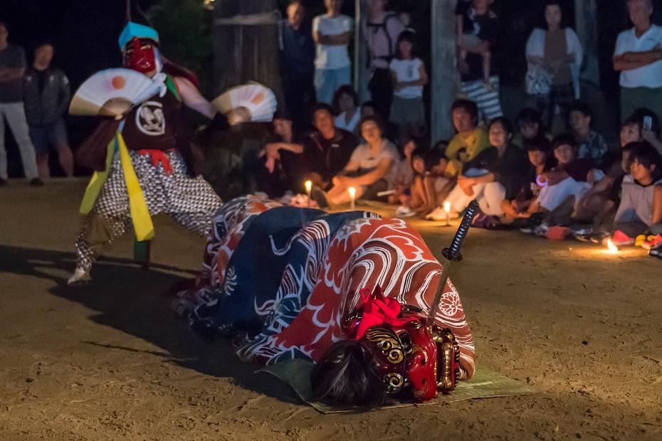 2018.09.01矢駄の秋祭り 獅子殺し 1 (8)