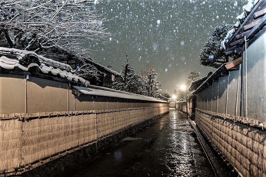 2019.01.26武家屋敷跡の雪景色 1 (9)