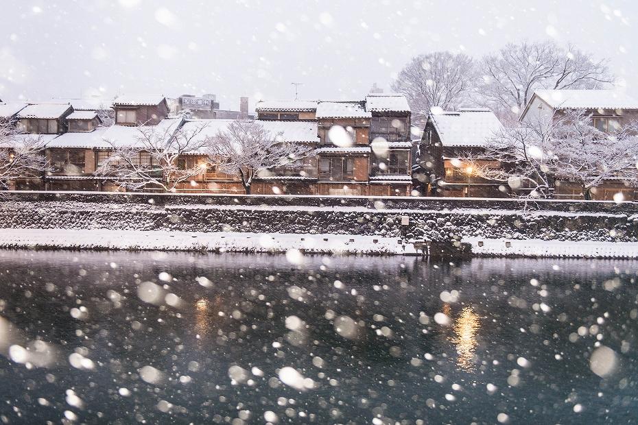 2019.01.27主計町の雪景色 1 (3)