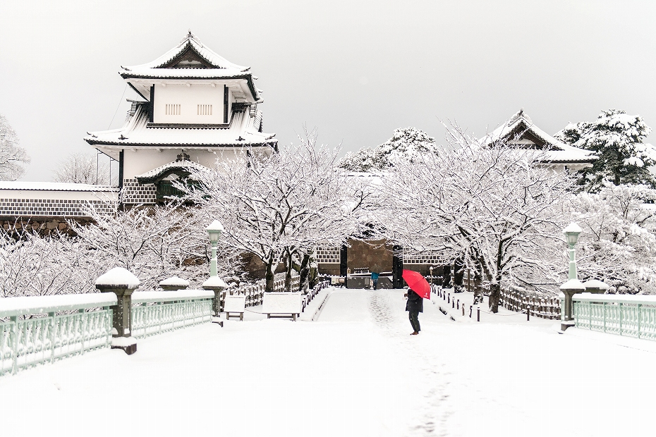 2019.01.27金沢城の雪景色 2 (2)
