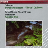 Beaux Arts Trio The Trout