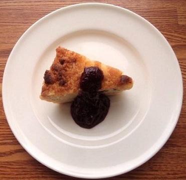 pine-berry cheese cake