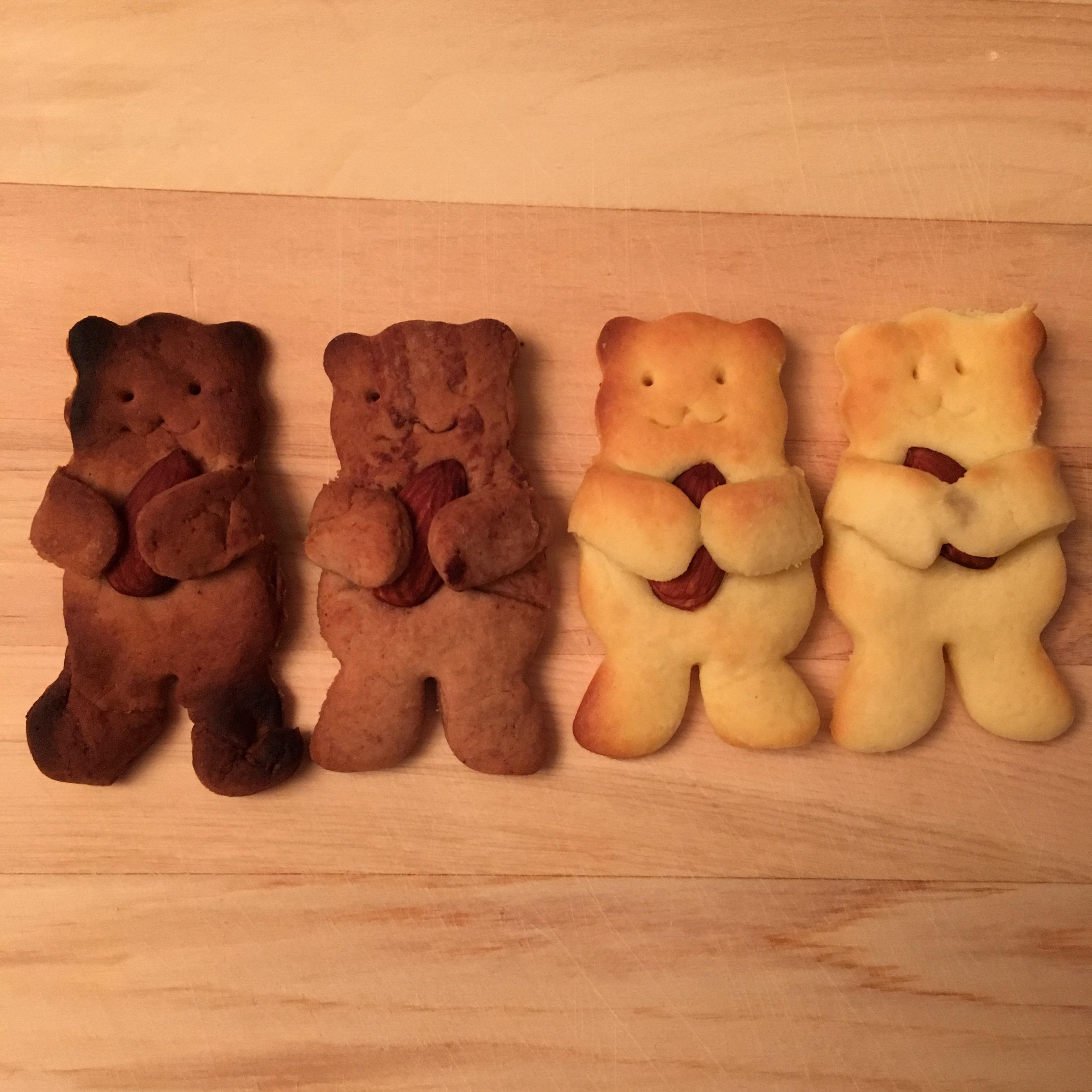 さん クッキー くま