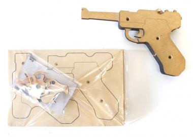 ササキ工芸 手作りキット 木製ゴム銃 GRASP_20170805