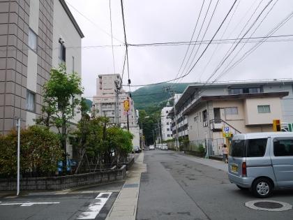 山王通りへ