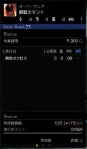 闘覇のマント1