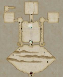 ダグレイム砦 広場MAP