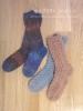 《つま先から編む靴下》