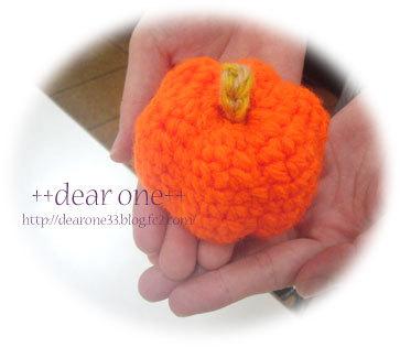 ハロウィンかぼちゃ170927