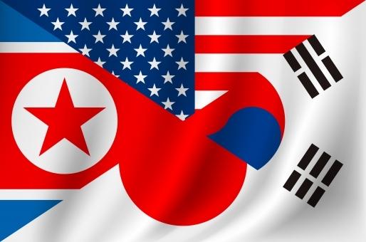 韓国と北朝鮮と日本とアメリカ