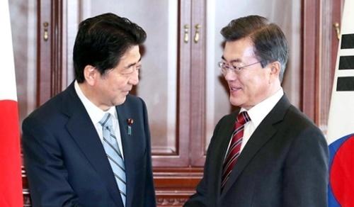 【韓国と温度差】安倍首相「北朝鮮、先に核放棄が対話条件」の画像