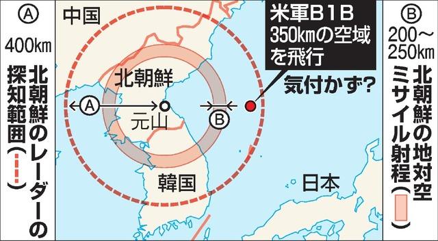 【電力不足】米軍のB1B、F15戦闘機爆撃機、北朝鮮軍のレーダー稼働せず!の画像