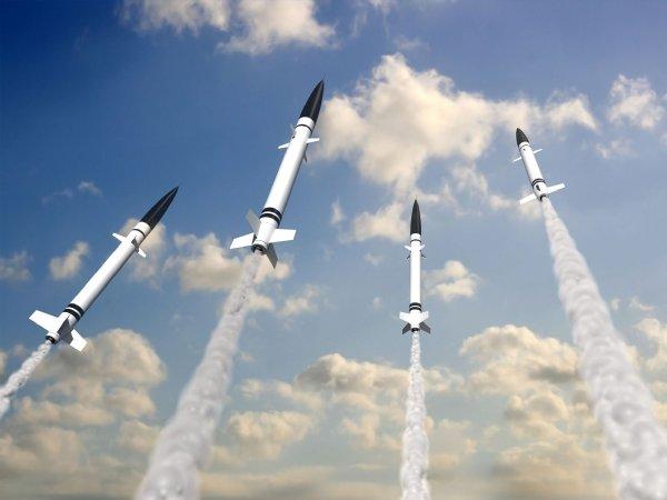 北朝鮮ミサイル着弾の画像