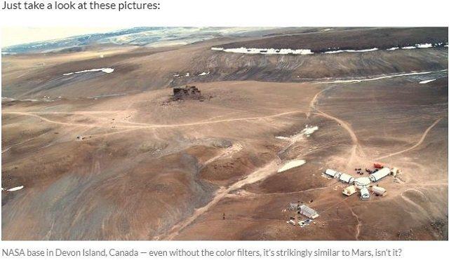 NASAの「火星画像」はカナダで撮影!?の画像6-6