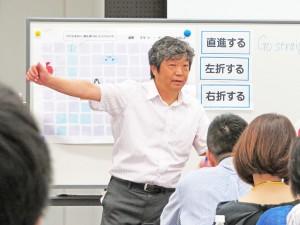 竹谷正明講師によるプログラミング授業