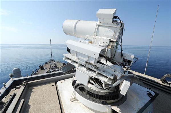 米海軍、1発わずか1ドルのレーザー兵器!の画像