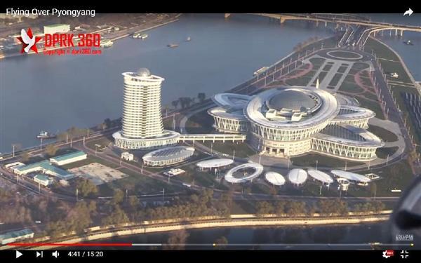 【張りぼて】空から見た北朝鮮の平壌、制裁下でも発展遂げる首都!の画像1