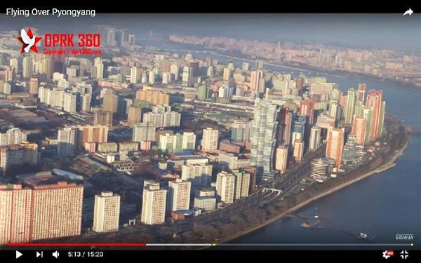 【張りぼて】空から見た北朝鮮の平壌、制裁下でも発展遂げる首都!の画像2