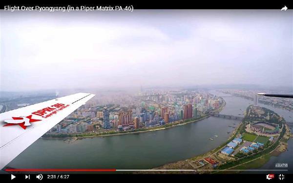 【張りぼて】空から見た北朝鮮の平壌、制裁下でも発展遂げる首都!の画像3