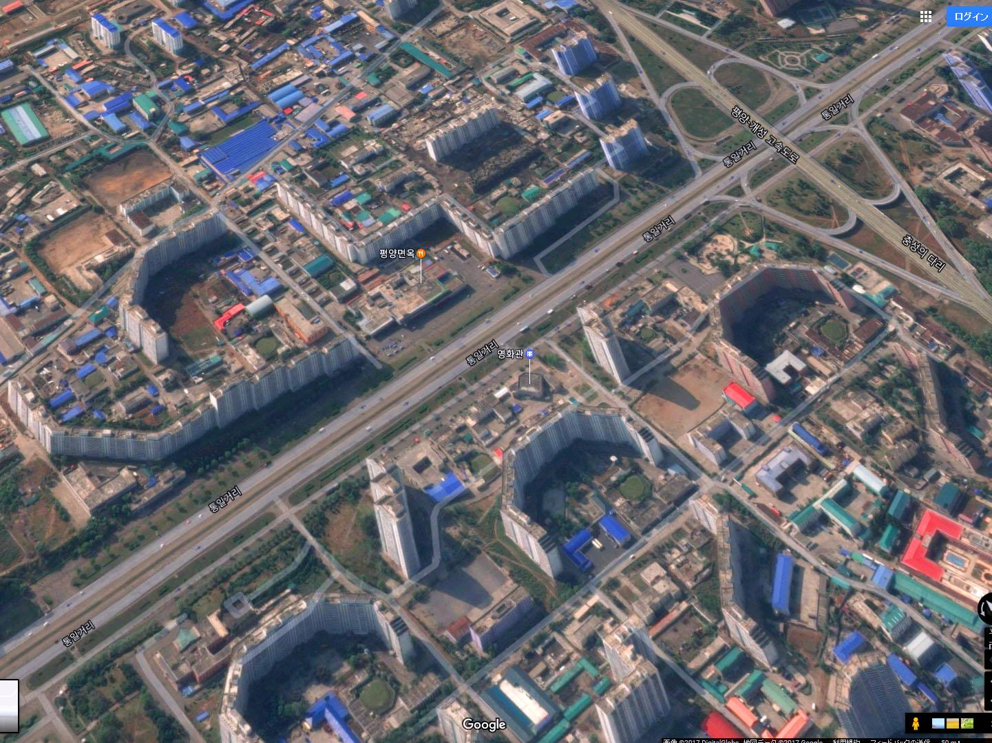 【張りぼて】空から見た北朝鮮の平壌、制裁下でも発展遂げる首都!の画像5