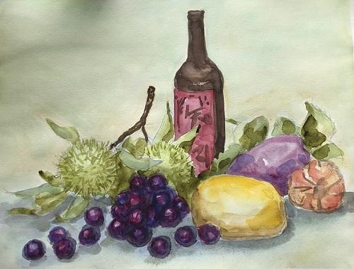 静物、県農フルーツ