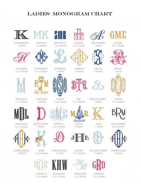 イニシャル刺繍ハンカチ_刺繍ロゴ