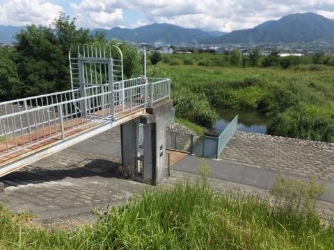 小石和用水取水樋管ゲート