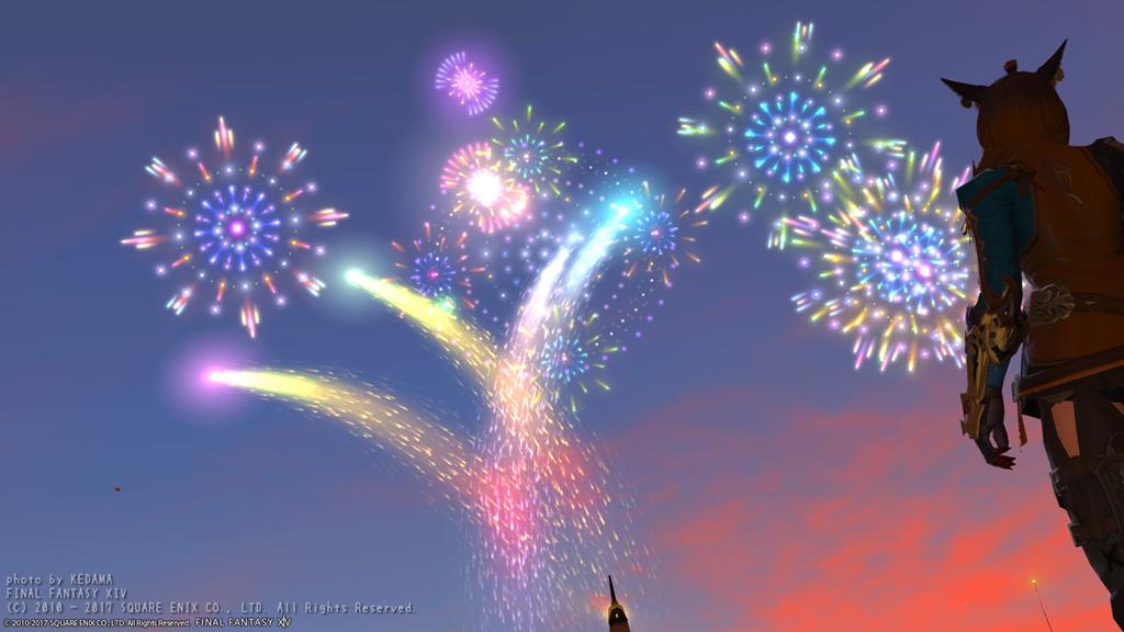 暈と紅蓮祭!!【FF14】