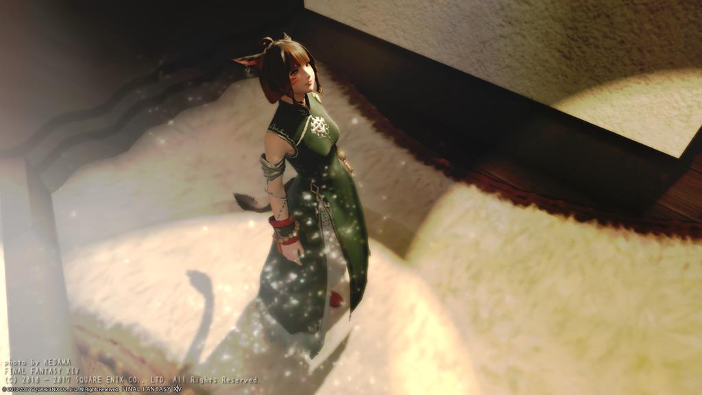 フィギュア風写真とタビスズメちゃん♪【FF14】