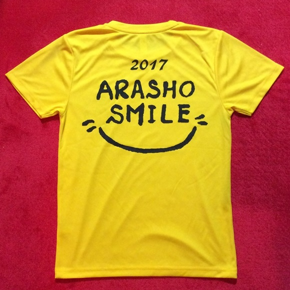 荒川沖小学校Tシャツ ARASHO☆SMILEバック