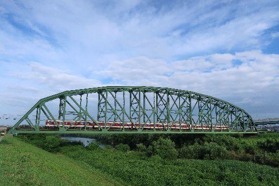 途中下車ブログ 澱川橋梁