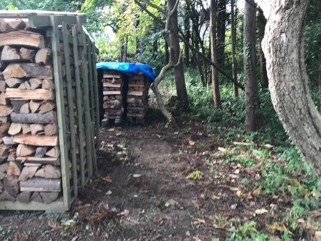 薪の移動1
