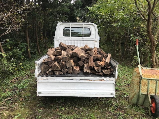 薪の移動4