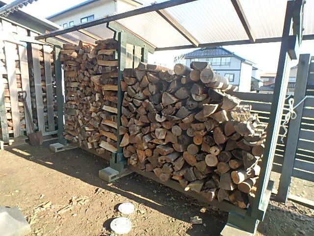 薪の補充8