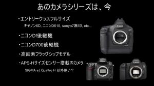 あのカメラシリーズは、今