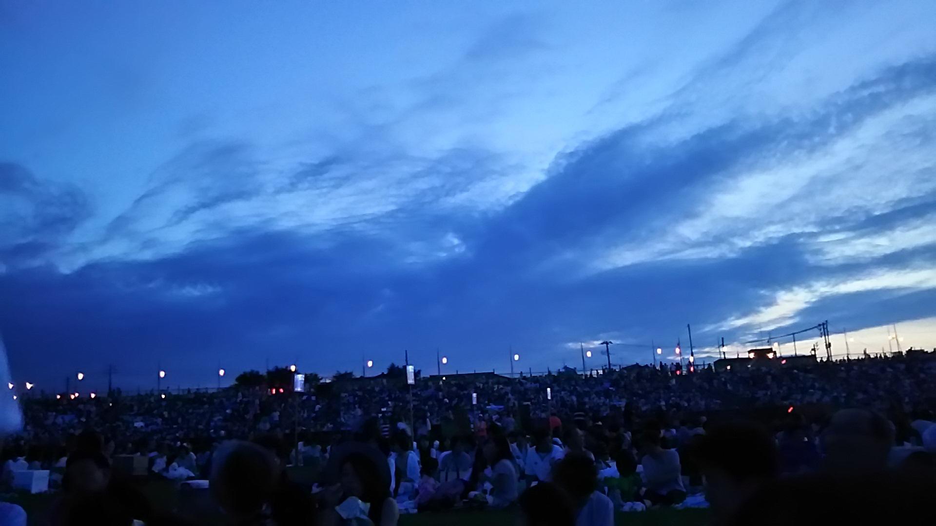 年に一度の、長岡大花火大会
