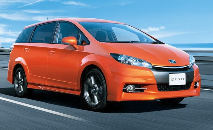 トヨタ WISH トヨタ自動車WEBサイト