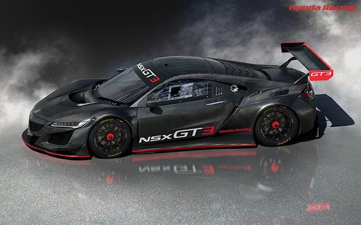 NSX GT3 official