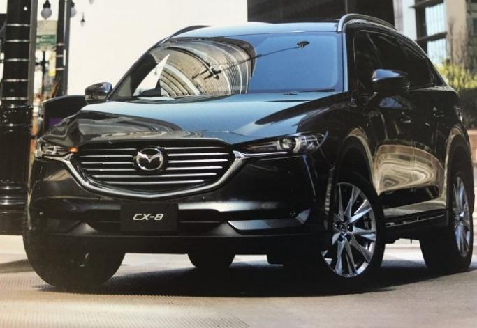マツダ「新型CX 8」ついにフロントデザイン判明!デザイン画像が流出で?
