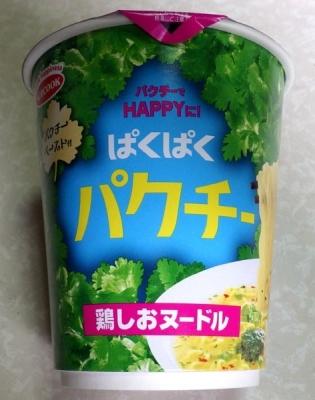 7/17発売 ぱくぱくパクチー 鶏しおヌードル