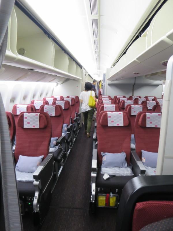 JAL SS2 プレミアムエコノミー シンガポール