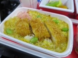 JL37 シンガポール 機内食