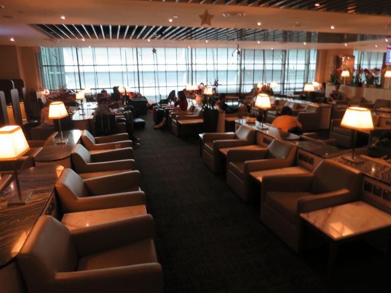 シンガポール チャンギ国際空港 マレーシア航空ラウンジ