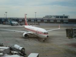 マレーシア航空 チャンギ空港