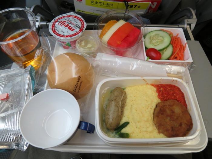 機内食 B787