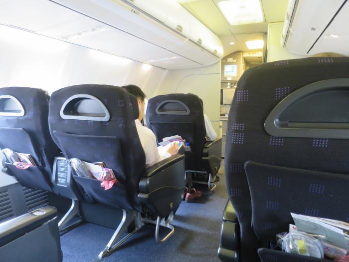 飛行機 ビジネスクラス JAL